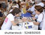 aracaju  brazil   november 19 ... | Shutterstock . vector #524850505