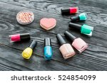 make up and beauty | Shutterstock . vector #524854099