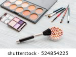 make up and beauty | Shutterstock . vector #524854225