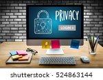 user password register log in   ...   Shutterstock . vector #524863144