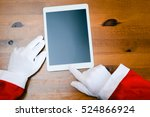 joyful christmas online...   Shutterstock . vector #524866924