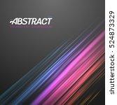 illustration of digital glith... | Shutterstock .eps vector #524873329