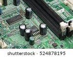 circuit board  | Shutterstock . vector #524878195