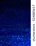 blue glitter texture christmas... | Shutterstock . vector #524885617