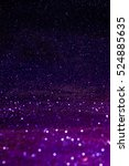 purple abstract background with ... | Shutterstock . vector #524885635
