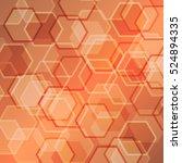 abstract orange gradient...   Shutterstock .eps vector #524894335