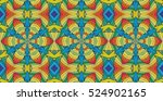 kaleidoscopic multicolor... | Shutterstock . vector #524902165