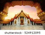 the marble temple  wat... | Shutterstock . vector #524912095