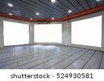blank advertising billboard in...   Shutterstock . vector #524930581