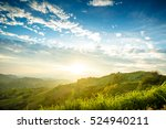 sunshine viewpoint khao kho ... | Shutterstock . vector #524940211