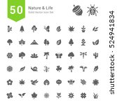 nature and life icon sets. 50... | Shutterstock .eps vector #524941834