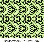 abstract seamless geometries... | Shutterstock .eps vector #524942707