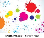 abstract colorful rainbow... | Shutterstock .eps vector #52494700