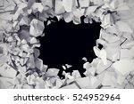3d rendering  explosion ... | Shutterstock . vector #524952964