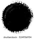 vector grunge circle. grunge...   Shutterstock .eps vector #524956954