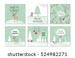 Set Of 6 Cute Gift Cards And...