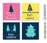 Set Of 4 Cute Gift Cards And...