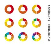 vector circle infographic. | Shutterstock .eps vector #524985091