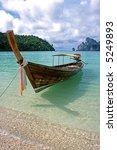 Long Boat - Ko Phi Phi Don, Thailand - stock photo
