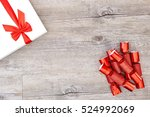 a studio photo of christmas... | Shutterstock . vector #524992069