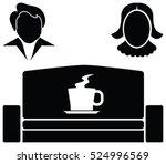 vector illustration of a office ... | Shutterstock .eps vector #524996569