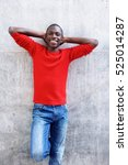 portrait of handsome young... | Shutterstock . vector #525014287