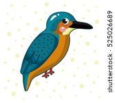 cartoon birds | Shutterstock .eps vector #525026689