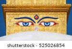 Eyes Of The Buddha On The...