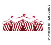 circus tent festival icon... | Shutterstock .eps vector #525028879