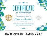 Certificate Template Abstract...