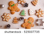 beautiful christmas background... | Shutterstock . vector #525037735