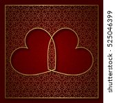 Romantic Patterned Background...