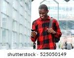 portrait of young african man... | Shutterstock . vector #525050149