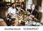 restaurant chilling out classy... | Shutterstock . vector #525069037