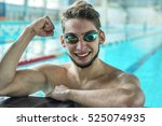 Swimmer Man. Portrait Of...