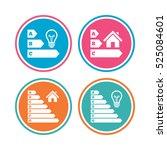energy efficiency icons. lamp...   Shutterstock .eps vector #525084601