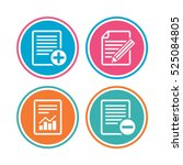 file document icons. document...   Shutterstock .eps vector #525084805