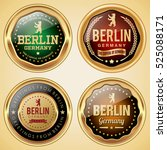 berlin germany badges | Shutterstock .eps vector #525088171