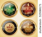 berlin germany badges | Shutterstock .eps vector #525088171