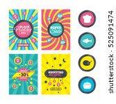 sale website banner templates.... | Shutterstock .eps vector #525091474