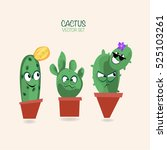 Cactus Vector Print.funny...