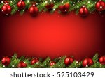 New Year Red Background With...