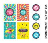 sale website banner templates.... | Shutterstock .eps vector #525104155