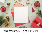 Red Envelope On Christmas...