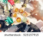 winter holidays   group of... | Shutterstock . vector #525157915