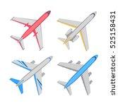 Passenger Aircraft Top View...