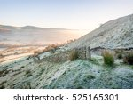 Dry Stone Wall On A Frosty...