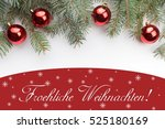christmas decoration background ... | Shutterstock . vector #525180169
