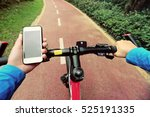 use smartphone app for... | Shutterstock . vector #525191335