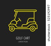 Logo Or Label Golf. Line Style...